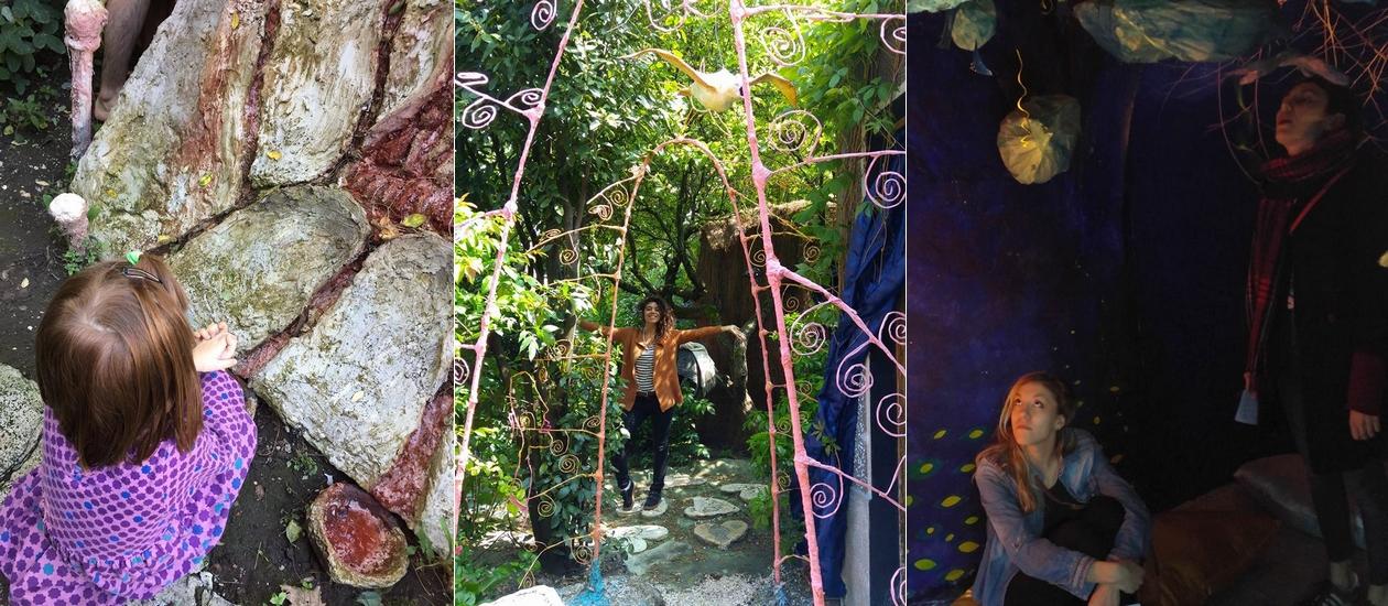 Le parc d'art du Pluralium, petit parc de loisirs artistique au Blanc-Mesnil en Seine-Saint-Denis.